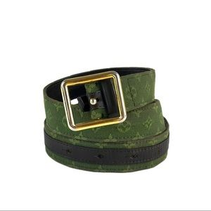 Louis Vuitton Mini Lin Monogram Belt